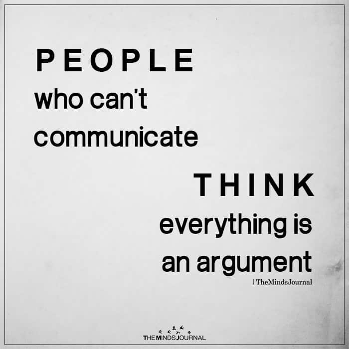 People Who Can't Communicate