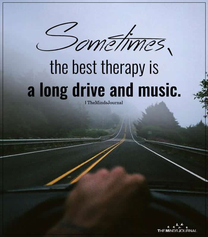 Sometimes, The Best Therapy Is