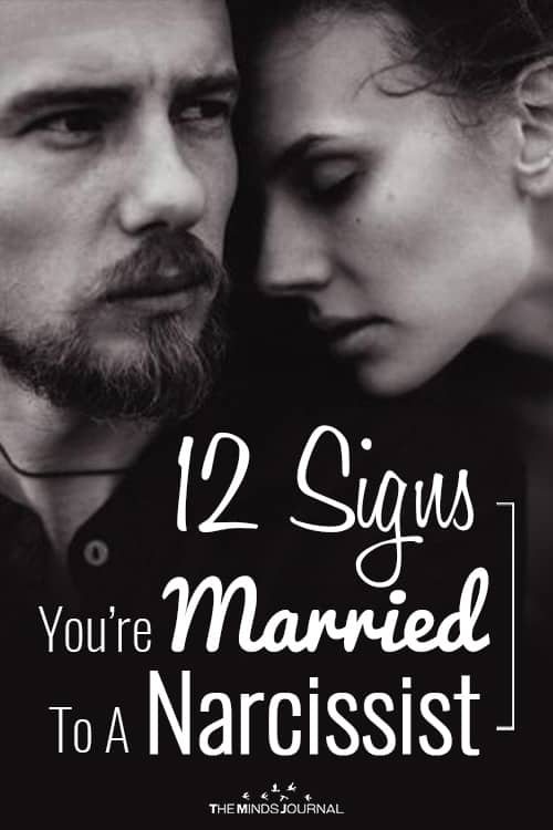12 Signs You Are Married To A Narcissist