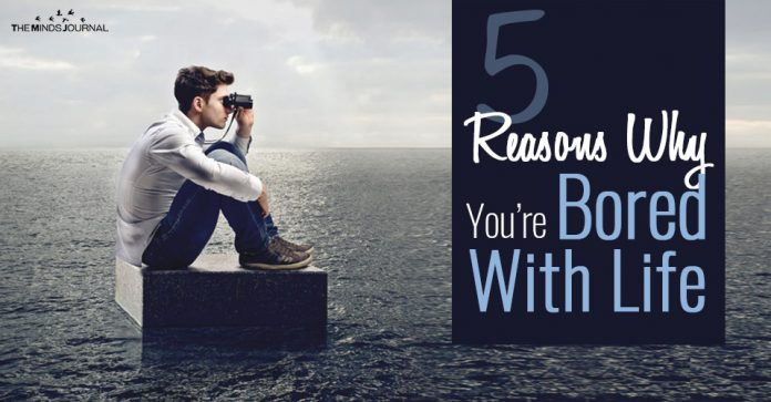 5 Reasons Why You're Bored With Life and 8 Ways To Make Life Interesting