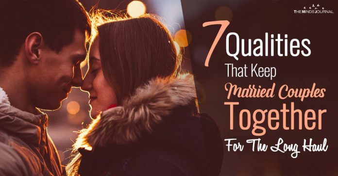 7 Most Important Qualities That Keep Married Couples Together For The Long Haul