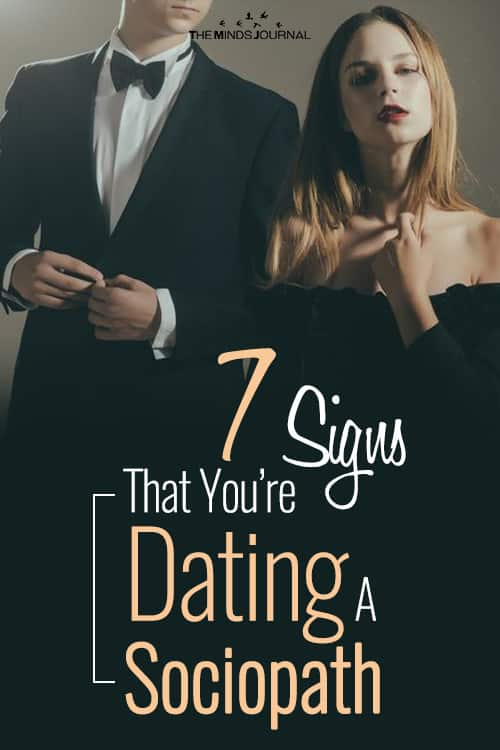 7 Signs That You're Dating A Sociopath