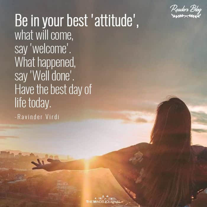 Be In Your Best