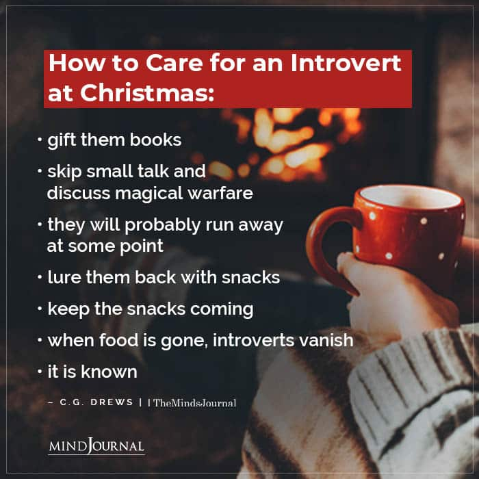 How to Care for Introverts at Christmas