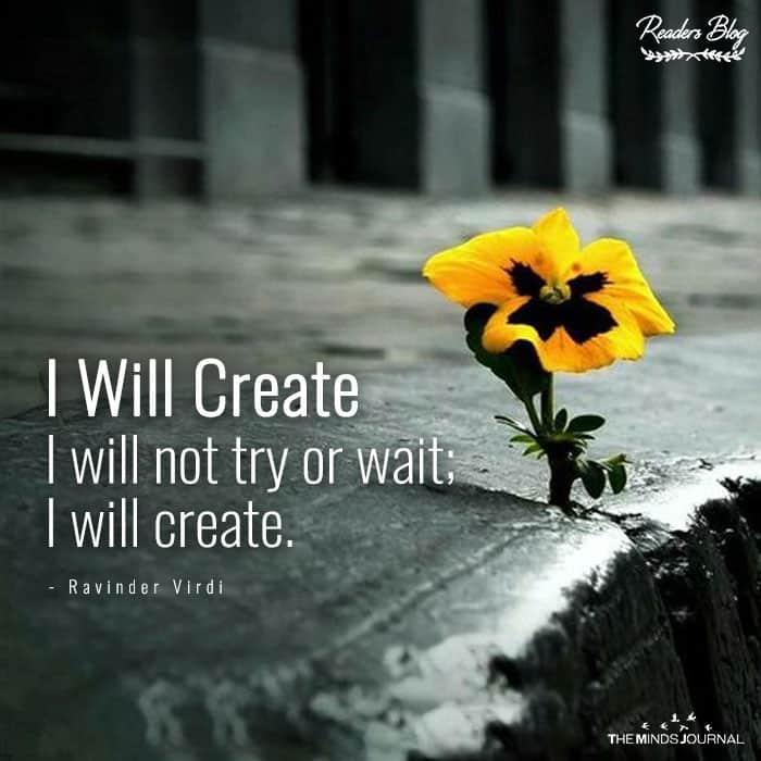 I Will Create