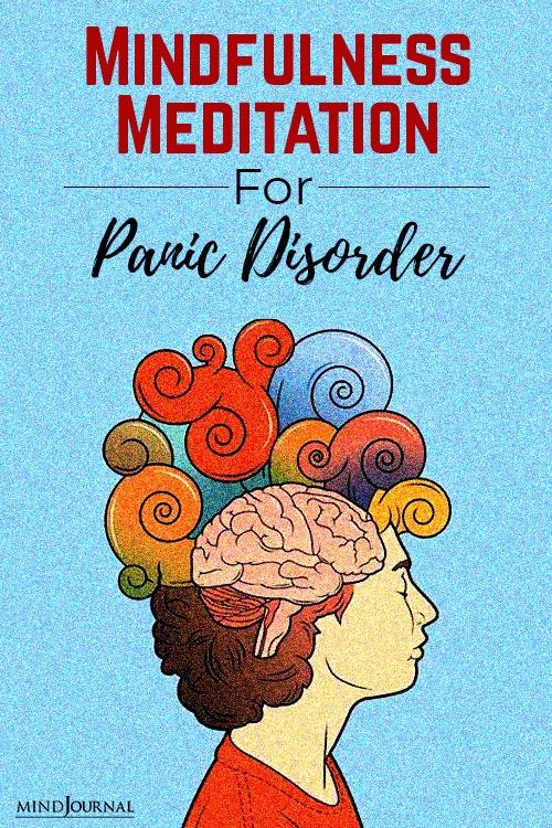 Mindfulness meditation panic disorder pin