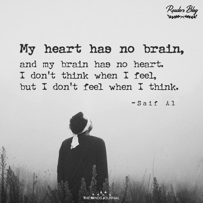My Heart Has No Brain