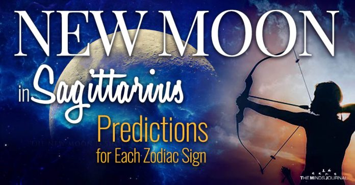 Your Horoscope for the New Moon in Sagittarius