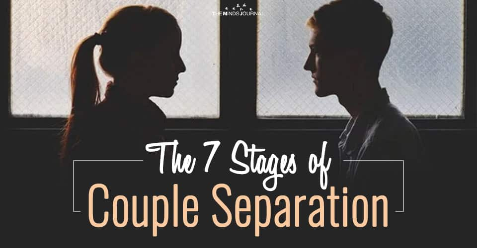 The 7 Stages of Couple Separation
