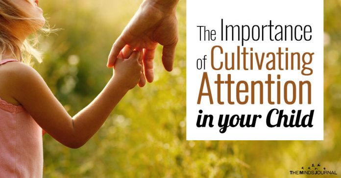 The Importance of Cultivating Attention in your Child