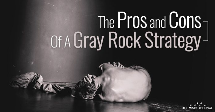 The Pros and Cons Of A Gray Rock Strategy