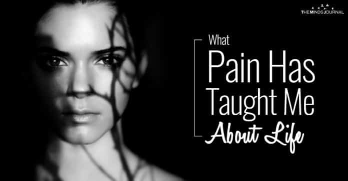 What Pain Has Taught Me About Life pin