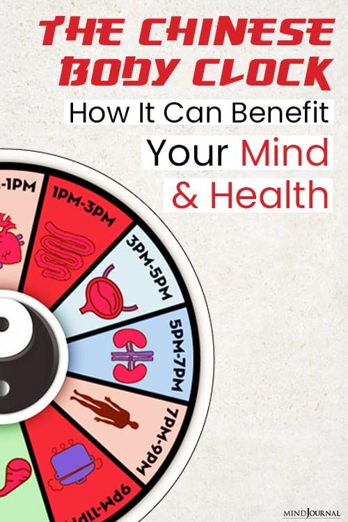 chinese body clock benefits pin