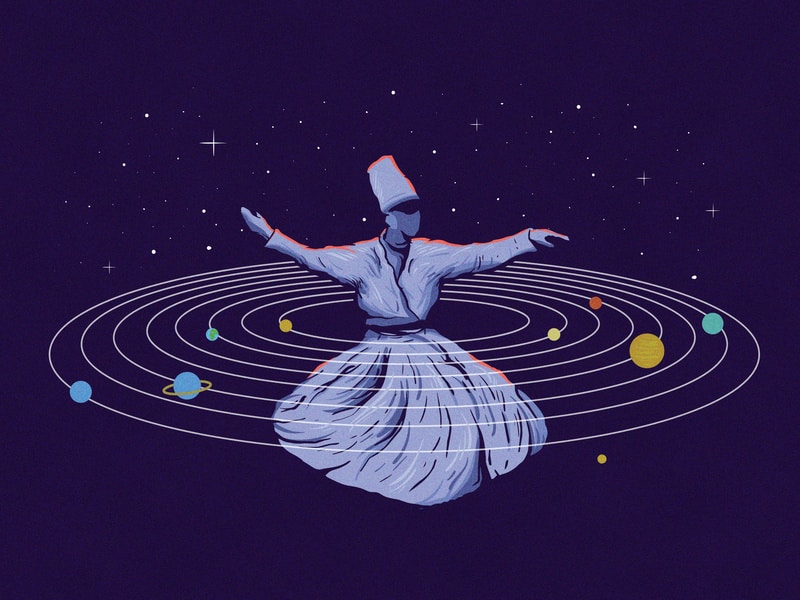 Sufi Whirling Meditation: The Cosmic Dance To The Journey Within