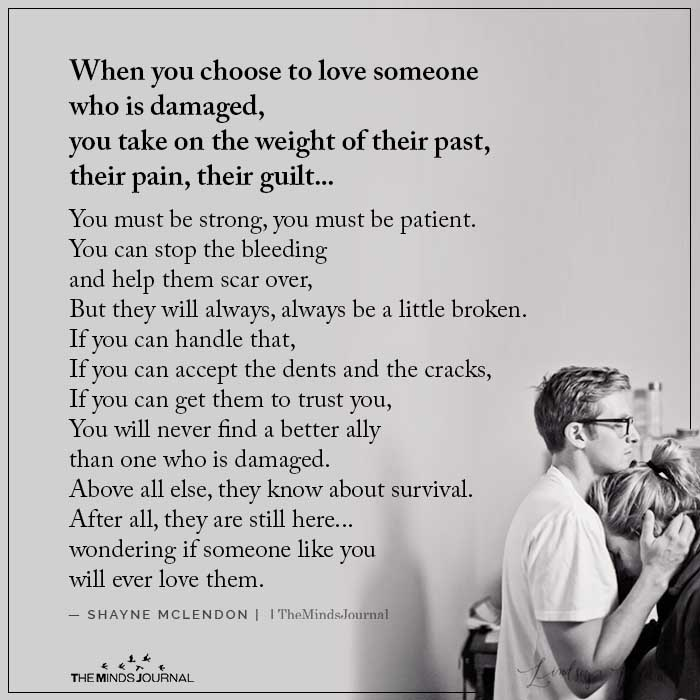 When You Choose To Love Someone