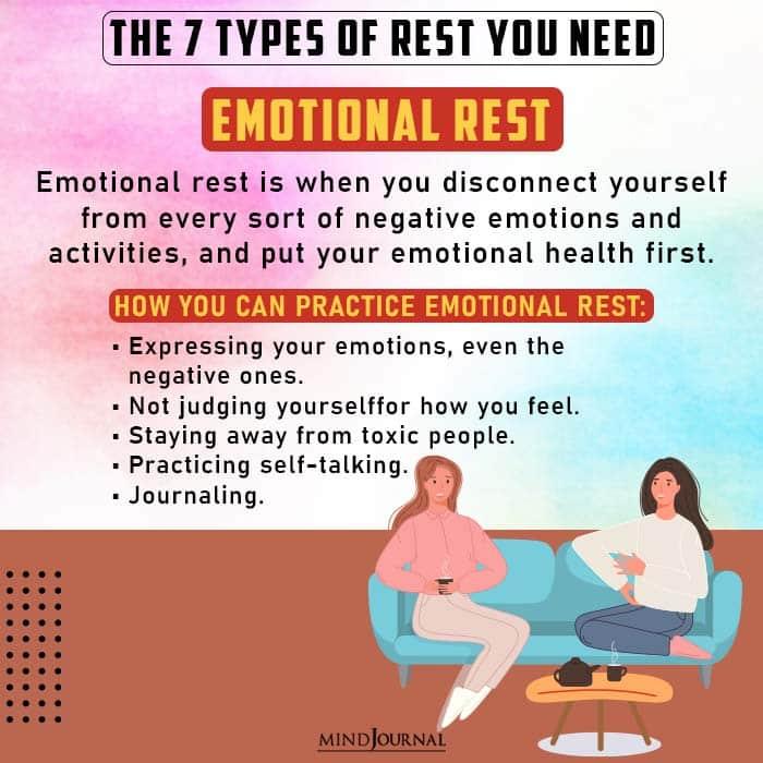 emotional rest