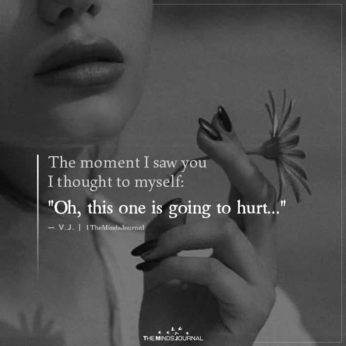 The Moment I Saw You