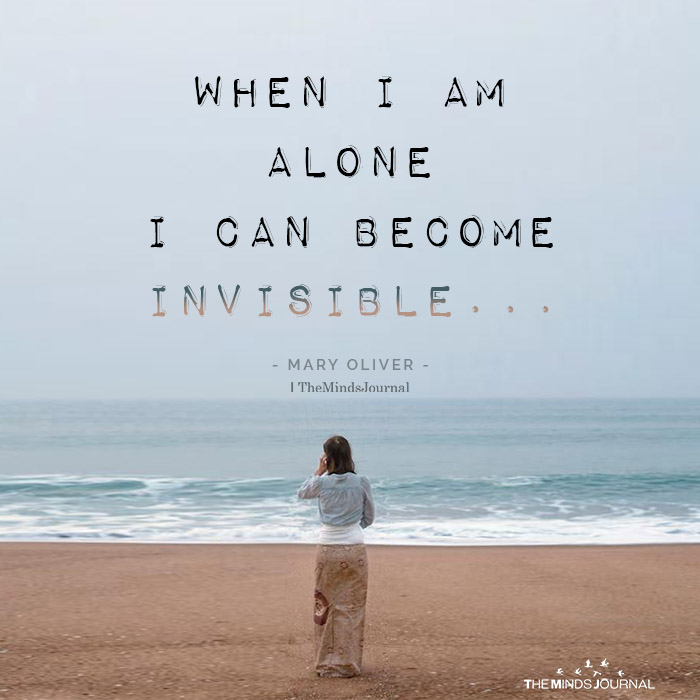 When I am Alone