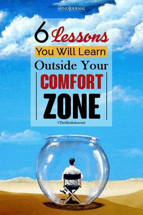 lessons learn outside your comfort zone pin