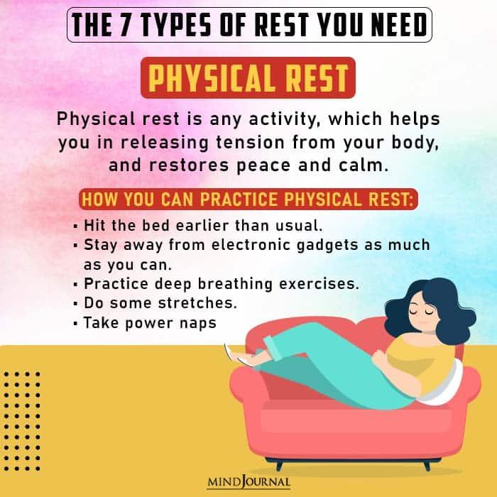 physical rest