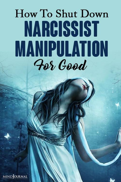 shut down narcissist manipulation pinop