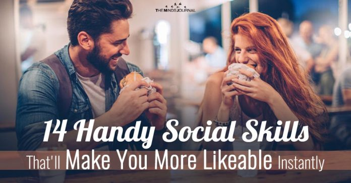 14 Handy Social Skills That'll Make You More Likable Instantly