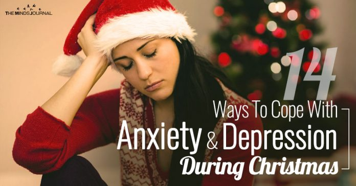 14 Ways To Cope With Anxiety And Depression During Christmas