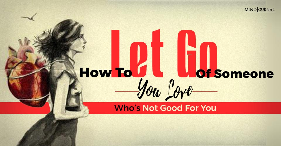 Let Go Of Someone