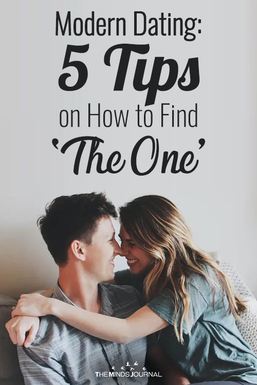 Modern Dating Culture 5 Tips on How to Find 'The One' pin