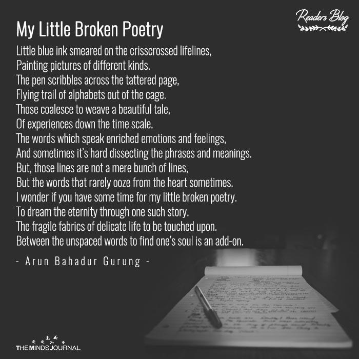 My Little Broken Poetry