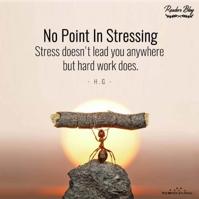 No Point in Stressing