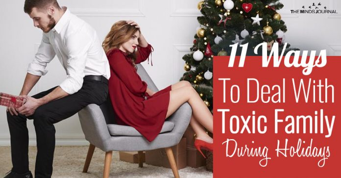 Surviving Christmas: 11 Ways To Deal With Your Toxic Family During The Holidays