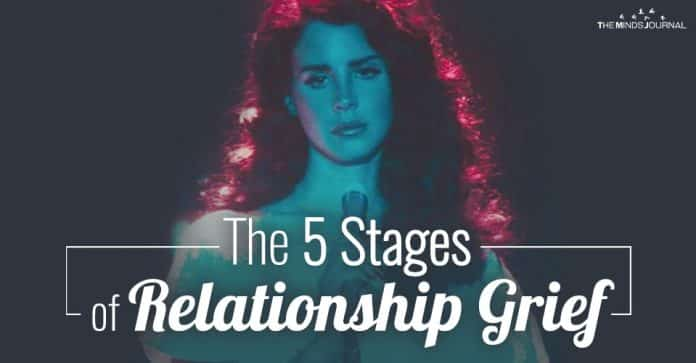 The 5 Common Stages of Grieving A Relationship