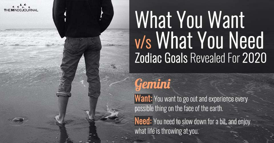What You Want v/s What You Need: Your Zodiac 2020 Goals Revealed
