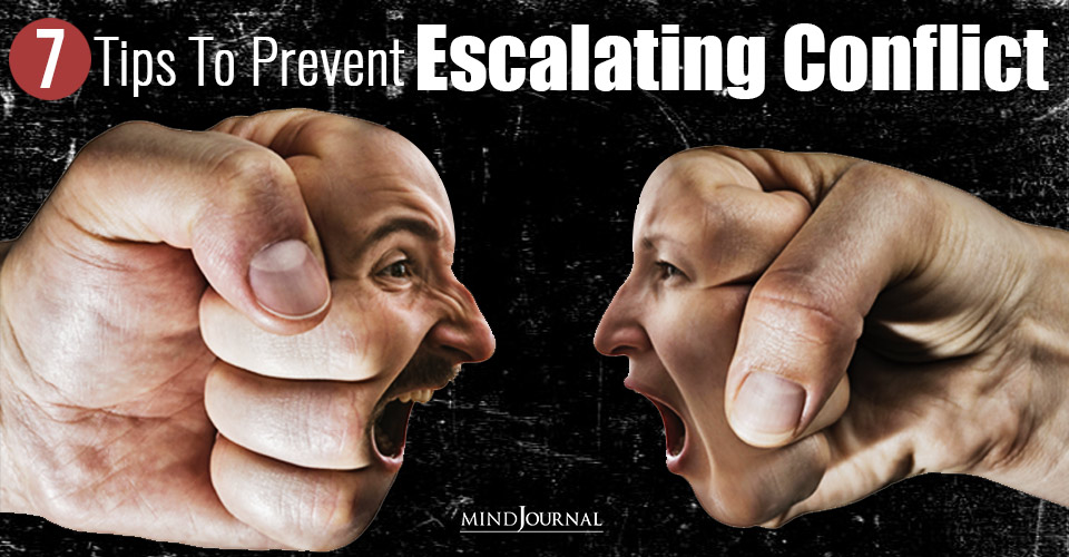 abcs of escalating conflict and prevent them