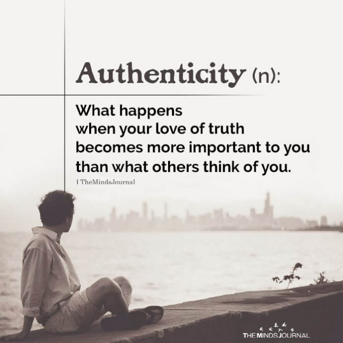 Authenticity and laziness are related