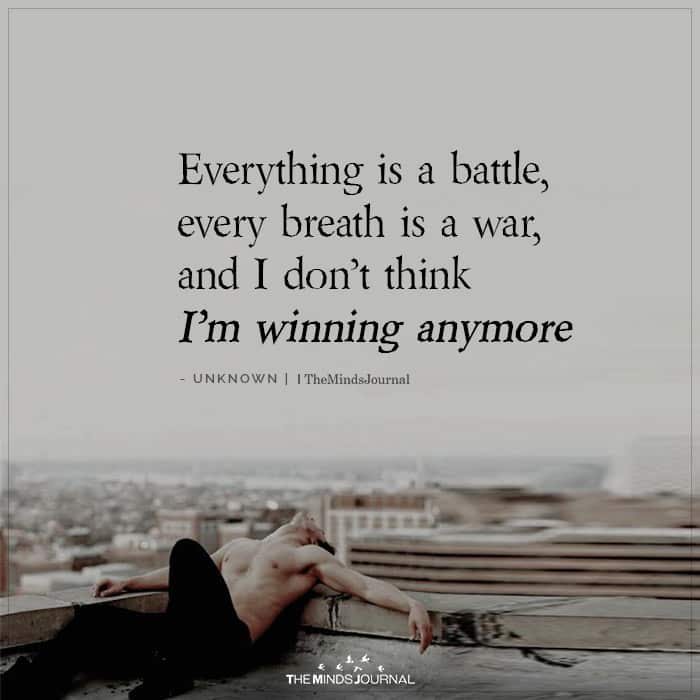 Everything is a Battle