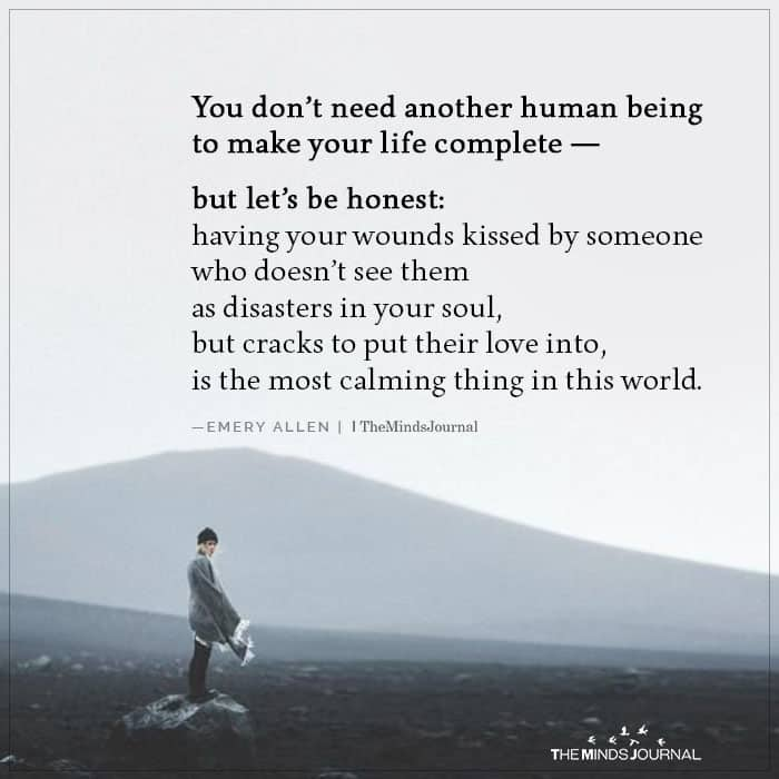 You Don't Need Another Human