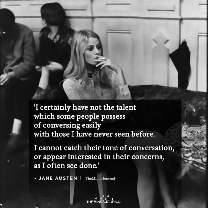 I Certainly Have Not the Talent
