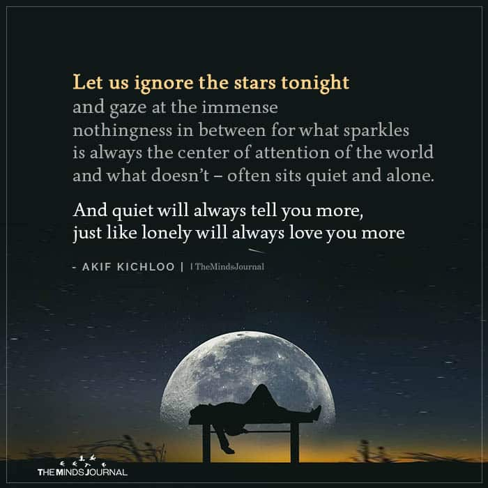 Let us Ignore the Stars