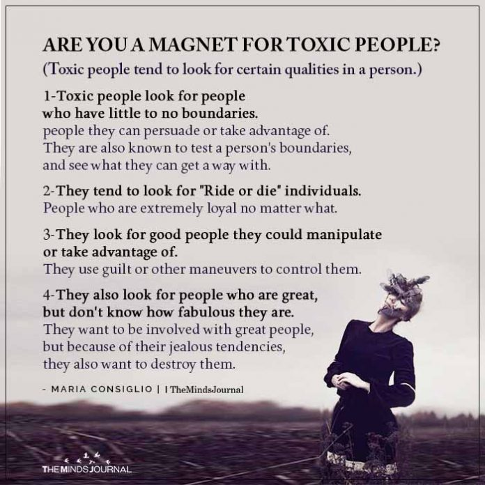 You Keep Attracting Toxic Partners