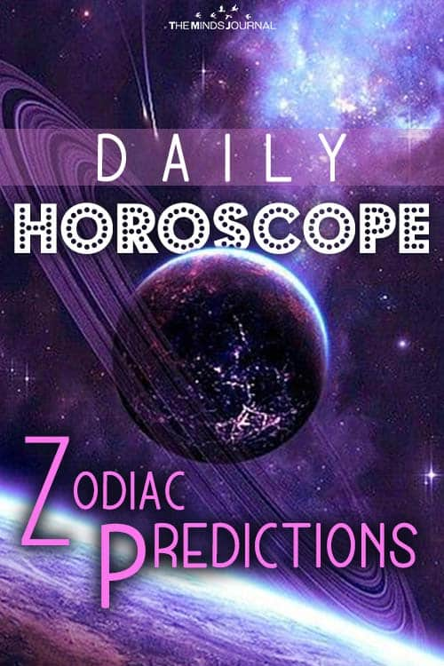 Your Daily Horoscope for Thursday 21 January 2020 pin