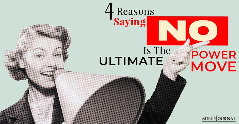 reason saying no