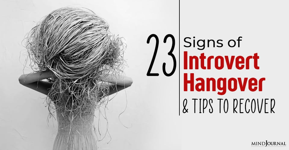 signs of introvert hangover
