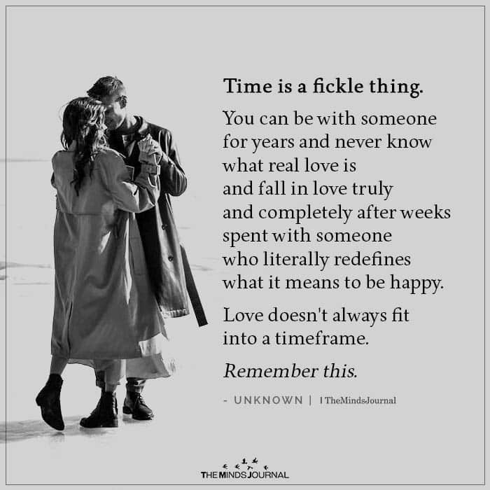 Time is a Fickle Thing
