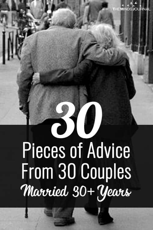 30 Pieces Of Marriage Advice From People Married For Over 30 Years