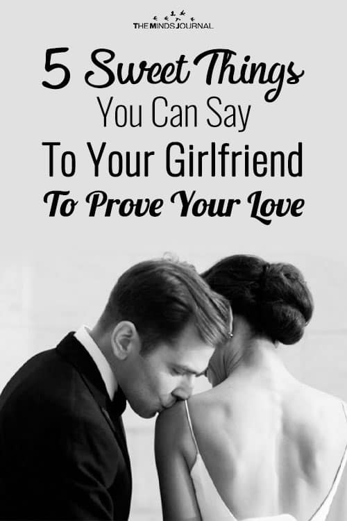 5 Sweet Things You Can Say To Your Girlfriend To Prove Your Love