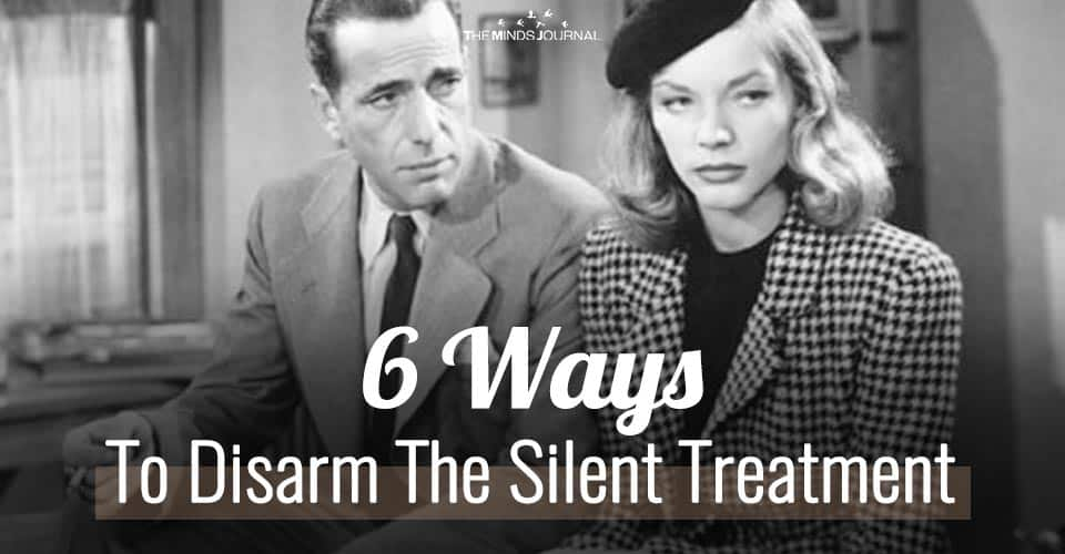 6 Steps To Disarm The Silent Treatment Without Making it Worse
