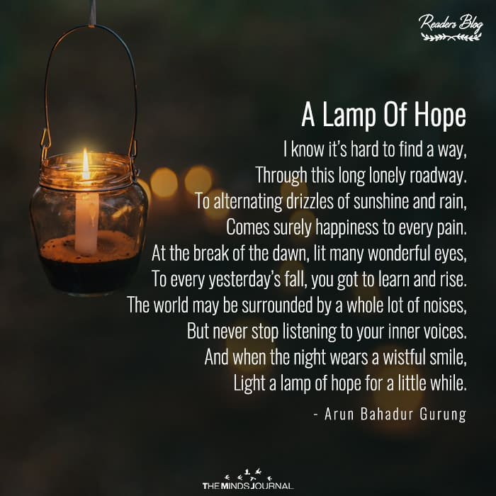A Lamp Of Hope