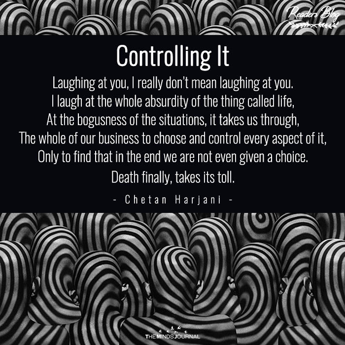Controlling It